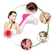 5 in 1 Electric Face Massager Wash Mahine Pore Cleaner Facial Cleansing Brush Exfoliation Body Spa Skin Care Massage N7