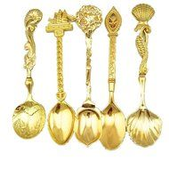 [Stainless Steel] Spoons for Grapefruit, Ice Cream, Tea, Small Coffee, Espresso and Dessert - Best Spoon Set for...
