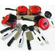 Smartshow Toys Living - Young Chef Cookware for learning Resources Pretend Children cooking tool & Play Cooking... N3