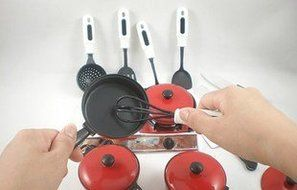 Smartshow Toys Living - Young Chef Cookware for learning Resources Pretend Children cooking tool & Play Cooking... N7