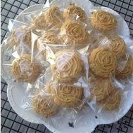 Yunko 300pcs Clear Little Daisies Cookie Candy Soap Packaging Self-adhesive Plastic Bags for Biscuits Package(... N16