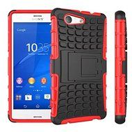 Sony Xperia Z3 Compact Case, DRUnKQUEEn® [HEAVY DUTY ARMOR] Dual Layer Rugged Hybrid Hard Shockproof Case Cover... N2