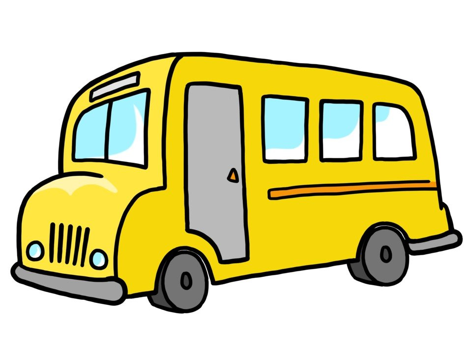Clipart of yellow School Bus