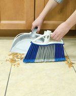 Quickie Dual Action Angle Broom with Dustpan N5
