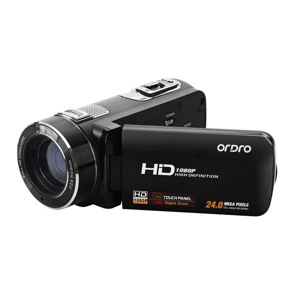 Ordro HDV-Z8 Plus Full HD 1080P Video Camera DV DVR Handheld Max