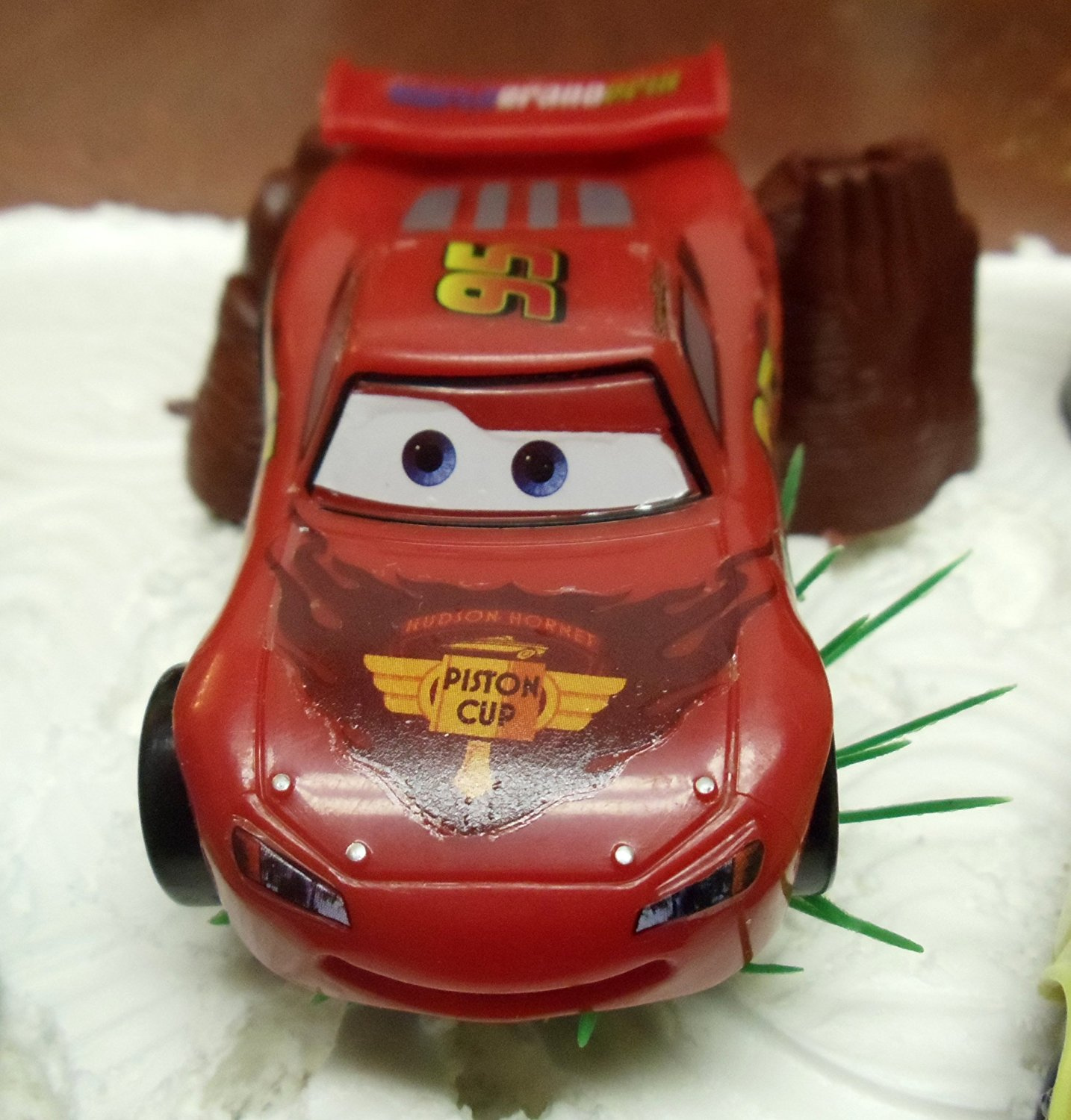 Enjoyable Cars 14 Piece Birthday Cake Topper Set Featuring Tow Mater Sarge Funny Birthday Cards Online Benoljebrpdamsfinfo