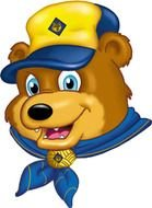 Cub Scout Bear as an illustration