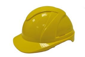 Yellow Hard Hat, safety helmet, drawing