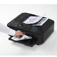 Canon PIXMA MX712 Wireless Inkjet Office-All-In-One Printer, 12.5 ipm (Black)/9.3 ipm (Color) Print Speed, 150... N2