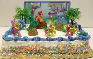 Surprising My Little Pony Birthday Cake Topper Featuring 10 Random My Little Personalised Birthday Cards Beptaeletsinfo