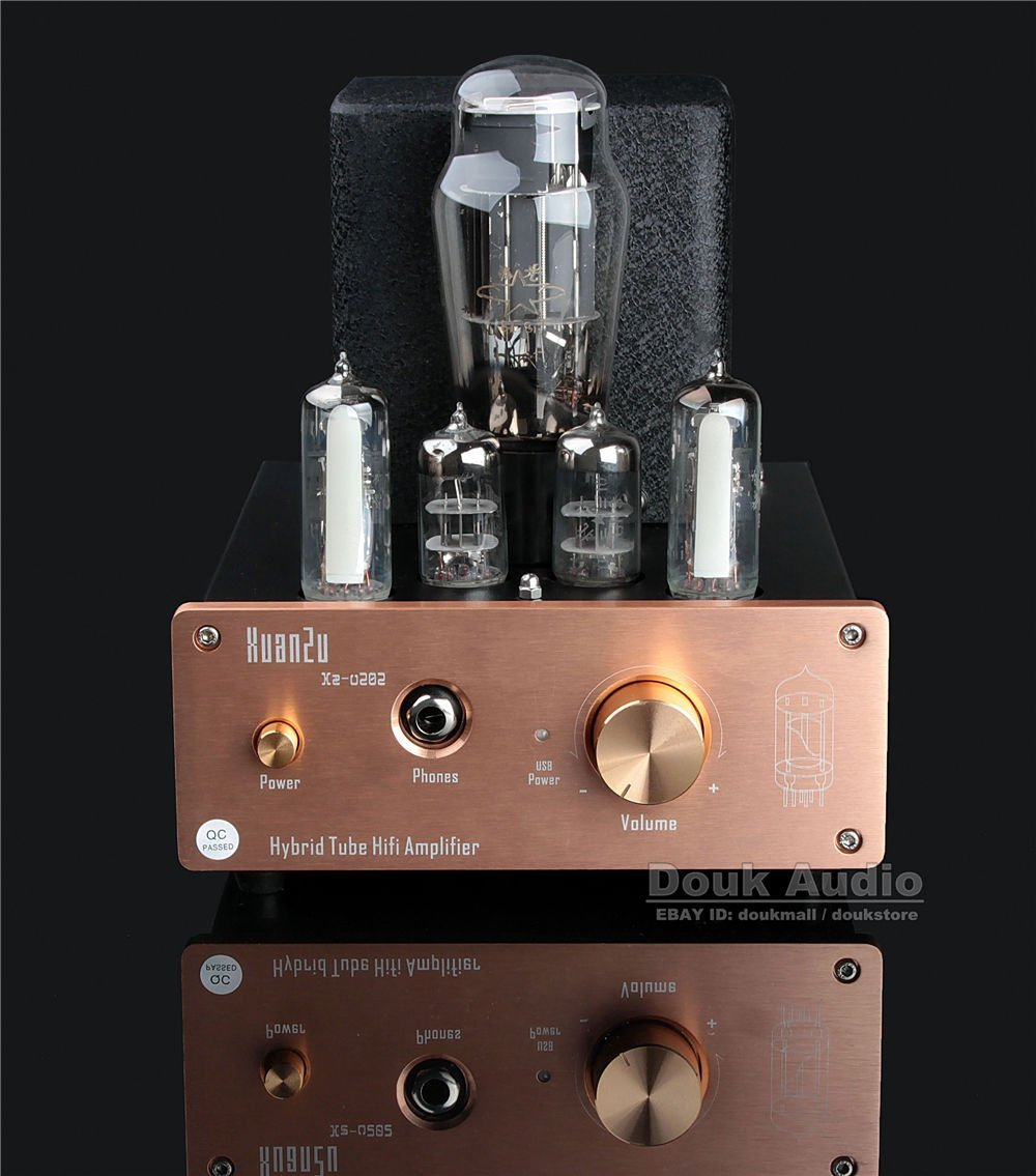 Douk Audio Hybrid Class A Tube Headphone Amplifier USB DAC