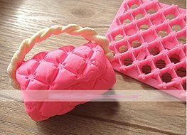 Anyana Flowers Plastic Cookie Cutter Cake Mould Tool Kitchen Tool Sugar Paste Baking Mould Cookie Pastry