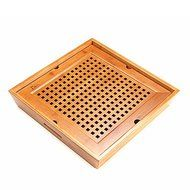 CCWY Bamboo tea tray tea set special handmade wooden Kung Fu bamboo King size bamboo tea tray storage-type water...