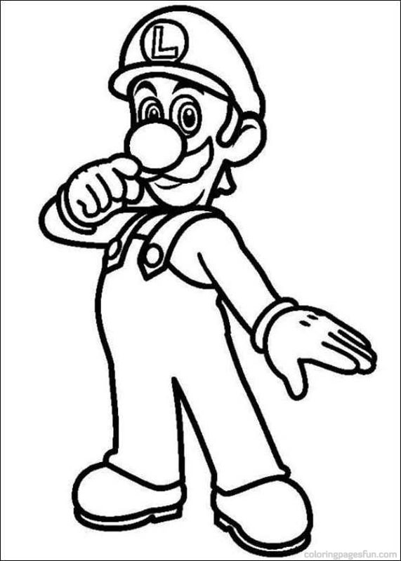 - Super Mario Bros Coloring Pages To Print Free Image