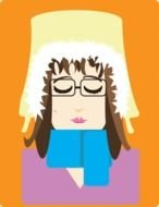 Self Portrait Clipart drawing
