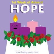 Happy First Week Of Advent Saints