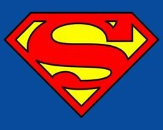 big Superman Logo drawing