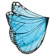 painted blue butterfly wings