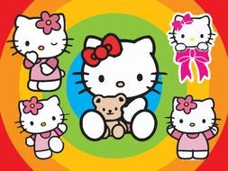 Hello Kitty Vector drawing