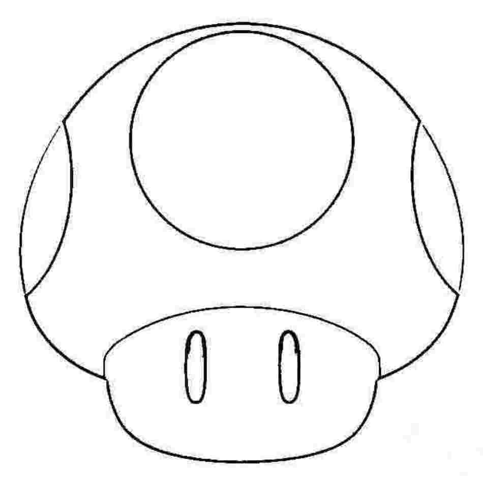Super Mario Bros Toad Coloring Pages Free Image