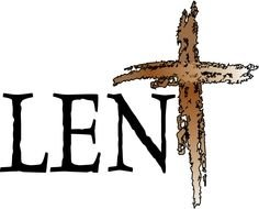 Lent Clip Art drawing