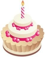 Birthday Cake Clip Art N102