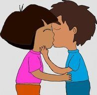 Dora Kissing Diego Games