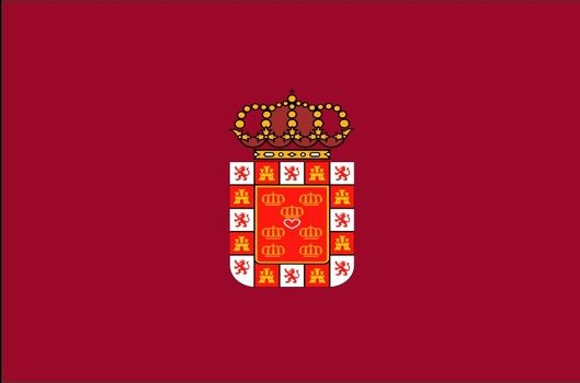 Flag of the Region of Murcia, spain