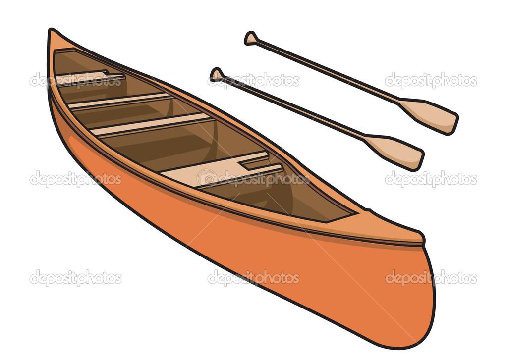 Canoe Paddle Clip Art N4