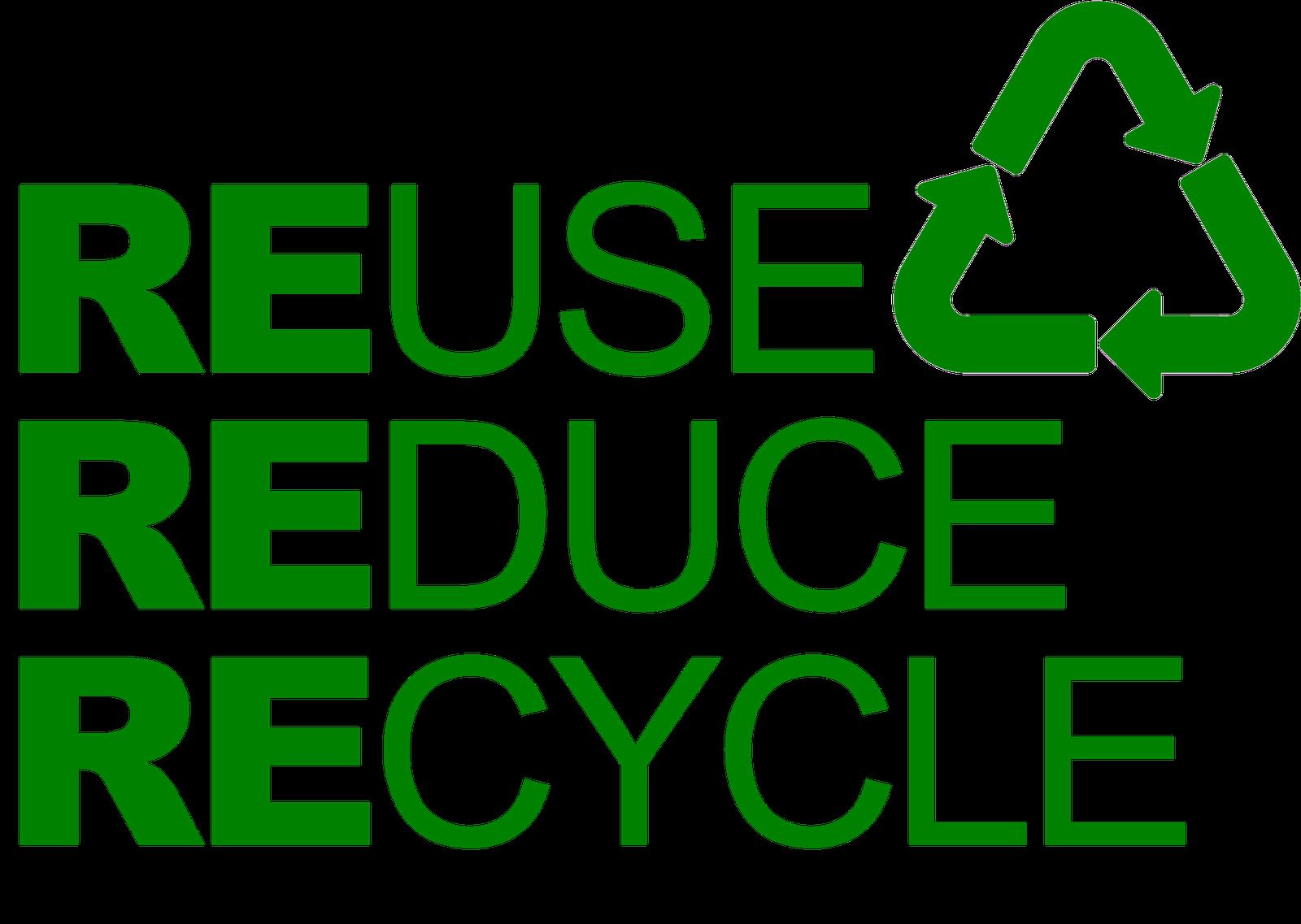Reduce Reuse Recycle Symbol Free Image