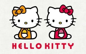 Hello Kitty cats drawing