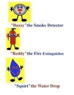 Fire Safety Rules drawing