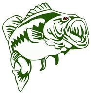 Clipart of green Fish