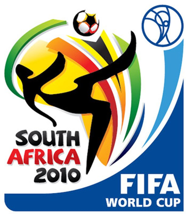 Colorful 2010 South Africa Worldcup clipart