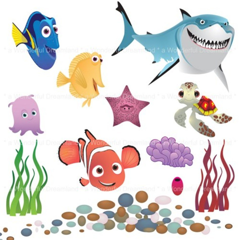 Printable Fish Clip Art Free Image Download