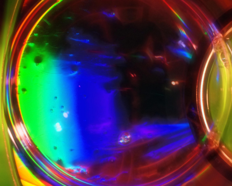 Эффект радуги цветное фото