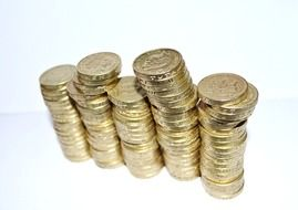 background british coins business cash