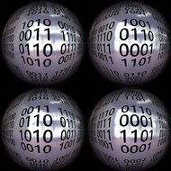 balls with binary codes