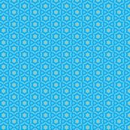 blue color geometric pattern design