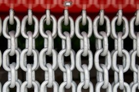 steel chain link