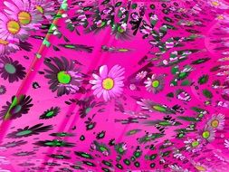 flowers abstract background texture