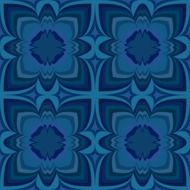blue floral wallpaper pattern