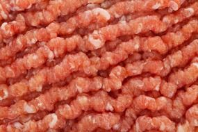 minced meat close up