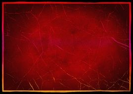 cracked red wallpaper
