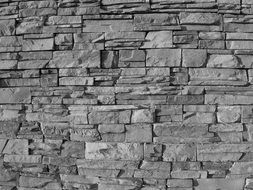 rock wall exterior pattern stone