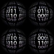 black balls with binary codes