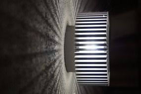 striped night light