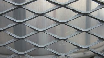 photo of steel grille