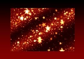 burgundy background with christmas stars