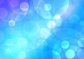 blue and white color abstract light background bokeh
